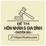 Tổng hợp 3+ Đề thi Luật Hôn nhân gia đình chuyên sâu