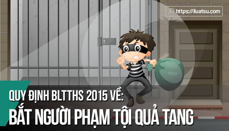 """Quy định về """"Bắt người phạm tội quả tang"""" trong BLTTHS 2015"""