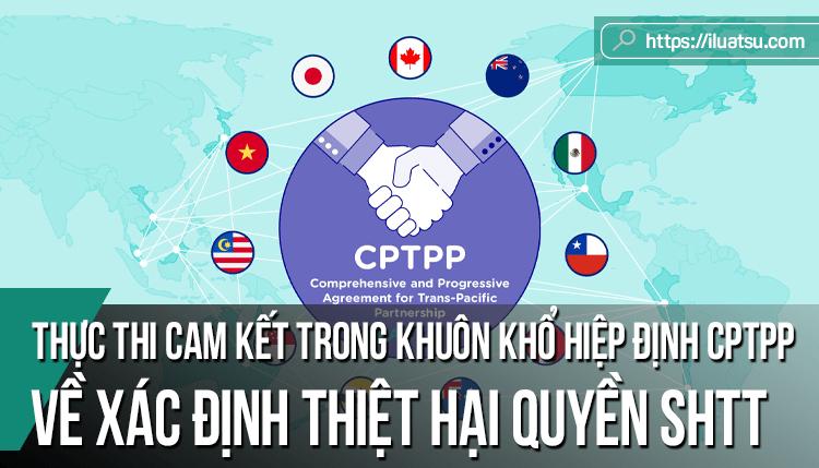 Thực thi cam kết trong khuôn khổ hiệp định CPTPP về xác định thiệt hại do hành vi xâm phạm quyền sở hữu trí tuệ