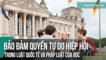Bảo đảm quyền tự do hiệp hội trong Luật Quốc tế và pháp luật của Đức: Một số góp ý cho dự thảo luật về hội của Việt Nam
