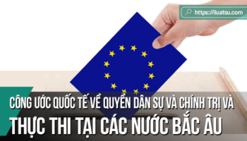 Công ước quốc tế về các quyền dân sự và chính trị và việc thực thi tại các nước Bắc Âu
