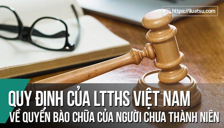 Đánh giá quy định của LTTHS Việt Nam về quyền bào chữa của người chưa thành niên trên cơ sở các tiêu chuẩn của Liên Hợp Quốc