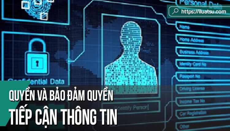Quyền và bảo đảm quyền tiếp cận thông tin trong Luật quốc tế, Luật nước ngoài và Luật Việt Nam