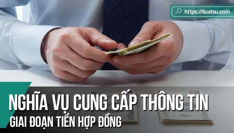 Việc ghi nhận nghĩa vụ cung cấp thông tin tiền hợp đồng: Thực tiễn thế giới và kinh nghiệm cho Việt Nam