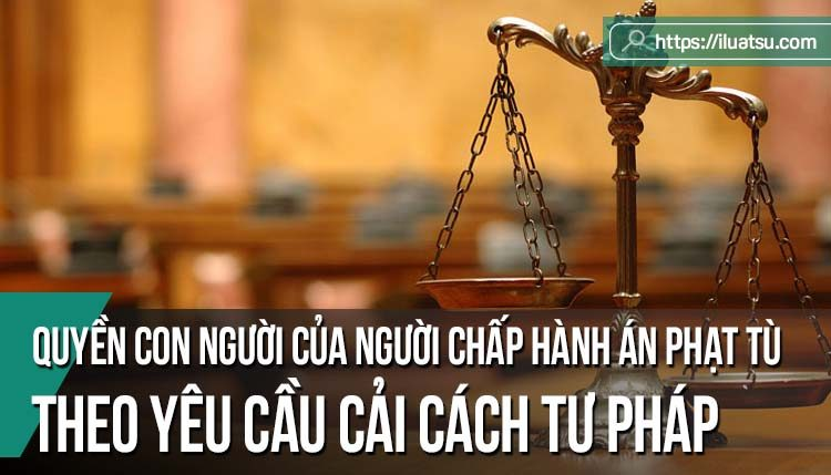 Một số vấn đề chung về quyền con người của người chấp hành án phạt tù theo yêu cầu cải cách tư pháp