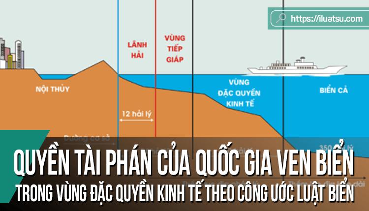 Quyền tài phán của quốc gia ven biển trong vùng đặc quyền kinh tế theo Công ước Luật Biển năm 1982 về lĩnh vực đánh bắt hải sản và bảo vệ môi trường