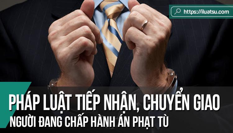 Thực trạng pháp luật Việt Nam về tiếp nhận, chuyển giao người đang chấp hành án phạt tù và một số góp ý cho dự thảo luật thi hành án hình sự năm 2010 sửa đổi