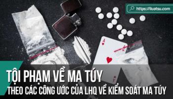 Tội phạm về ma túy theo các công ước của Liên Hợp Quốc về kiểm soát ma túy và BLHS Việt Nam: Nghiên cứu so sánh