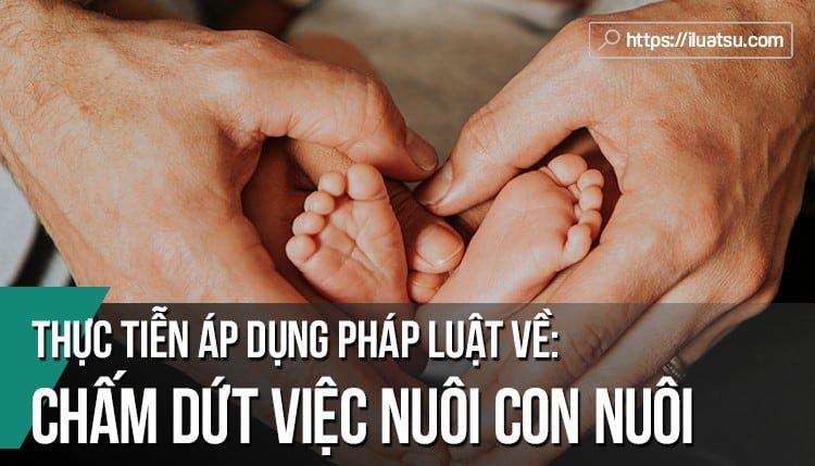 Thực tiễn áp dụng pháp luật về chấm dứt việc nuôi con nuôi tại Việt Nam và một số kiến nghị hoàn thiện