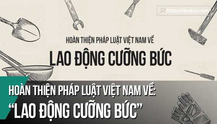 Hoàn thiện pháp luật Việt Nam về lao động cưỡng bức
