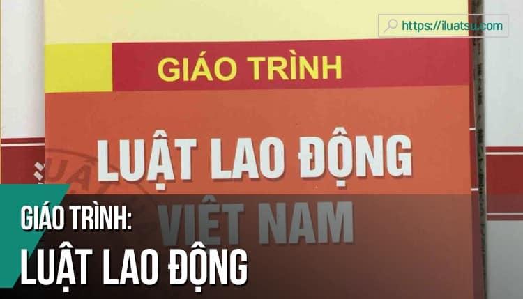 [EBOOK] Giáo trình Luật Lao động Việt Nam pdf (Tái bản 2018) – Nguồn: Trường Đại học Luật Hà Nội.