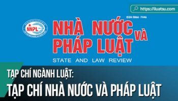 Tạp chí Nhà nước và pháp luật