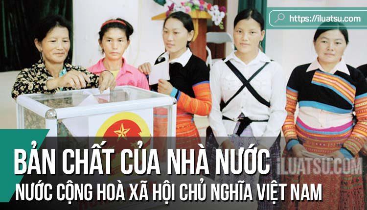 Bản chất của nhà nước Cộng hoà xã hội chủ nghĩa Việt Nam qua các bản Hiến pháp
