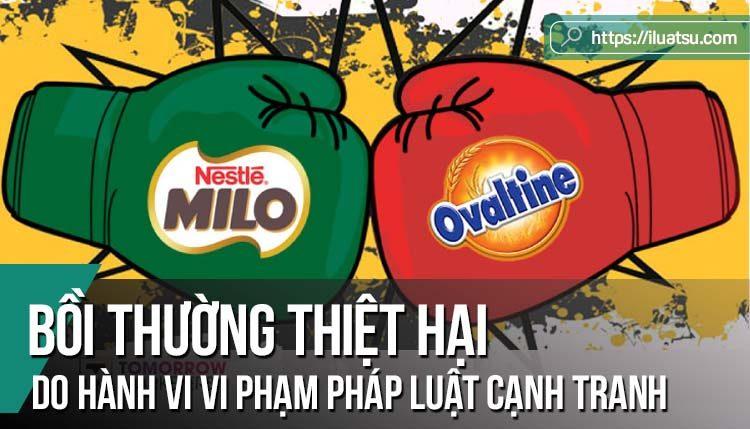 Bồi thường thiệt hại do hành vi vi phạm pháp luật cạnh tranh gây ra tại Việt Nam