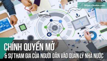 Chính quyền mở và sự tham gia của người dân vào quản lý nhà nước