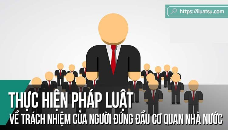 Thực hiện pháp luật về trách nhiệm của người đứng đầu cơ quan hành chính nhà nước – Một số vấn đề lý luận và thực tiễn
