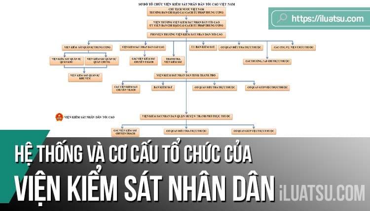 Hệ thống và cơ cấu tổ chức của Viện kiểm sát nhân dân