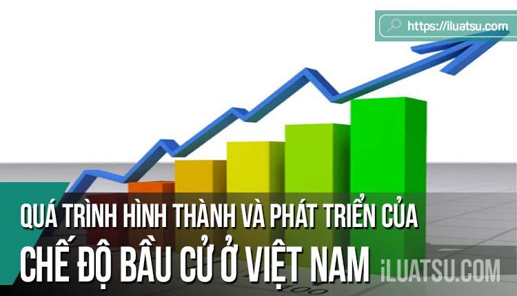 Quá trình hình thành và phát triển của Chế định bầu cử ở Việt Nam