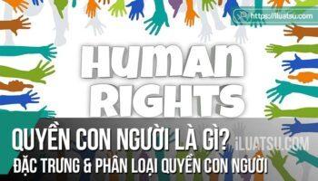Quyền con người là gì? Đặc trưng và phân loại quyền con người